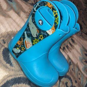 Crocs - Aqua Rain Boots - Size 12